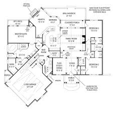fairlight 5462 3 bedrooms and 2 baths the house designers first floor plan