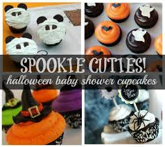 Halloween Baby Shower Centerpieces by Inspiring Halloween Baby Shower Cupcakes 49 In Baby Shower
