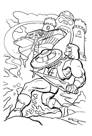 coloring pages surprising man coloring pages mighty