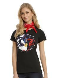 miraculous tales of ladybug u0026 cat noir yin yang girls t shirt