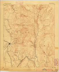 Map New Mexico by Browse Image Of The 1894 Santa Fe New Mexico 30 Minute Series
