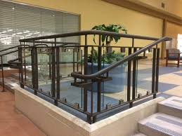 Glass Banisters For Stairs Glass Railings Pascetti Steel Design Inc