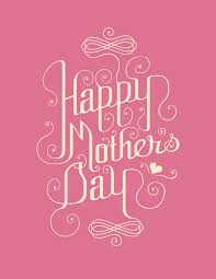 pink happy mothers day card design mothers day wallpaper