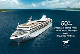 luxury cruise packages promotions paul gauguin cruises