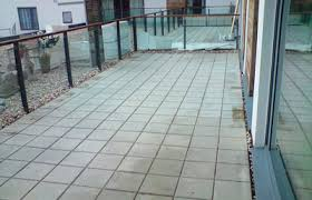 artificial turf on concrete decking u0026 balconies as good as grass