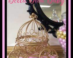 carriage centerpiece cinderella carriage etsy