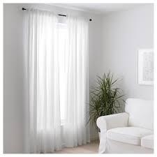 bergitte sheer curtains 1 pair white 140x250 cm ikea