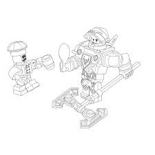 lego nexo knights ridder axl u0026 chef eclair coloring pages for kids