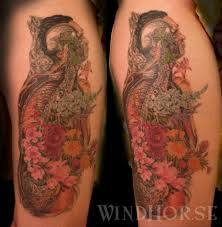 floral anatomy tattoo awesome looks pretty cool pinterest inside