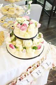 floral baby shower theme