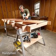 maximize your sawhorses family handyman