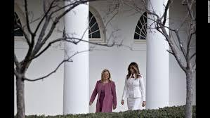 trump white house residence melania trump moves into the white house cnnpolitics