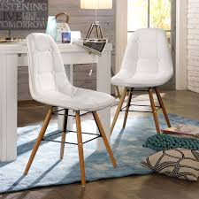 designer stühle esszimmer esszimmer einrichten creme weiss design stuhl savona 2er set weiß