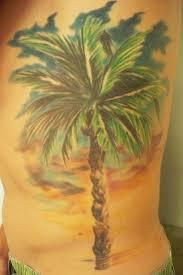 cool palm tree tattoomagz