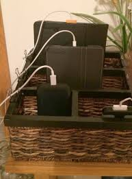 Build A Charging Station Charging Station Organizer Ideas For Phones U0026 Other Electronics