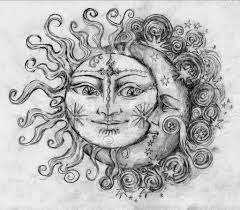25 awesome sun and moon ideas
