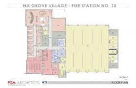 preliminary designs for 2 new elk grove village fire stations