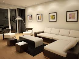 beautiful living room paint idea with white wall paint color and
