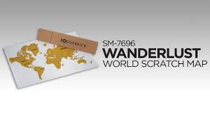 World Scratch Map by Sm 7696 Wanderlust World Scratch Map Youtube