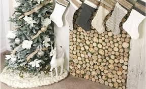 36 chunky knit tree skirt decorations