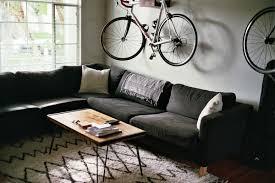 Living Room Bike Rack by Surfer Bachelor Pad