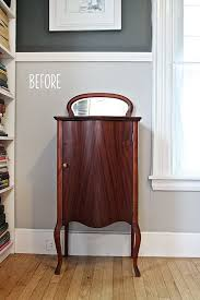 Diy Bar Cabinet Liquor Cabinet Before U0026 After U2014 Little Yellow Couch