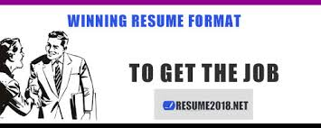 Which Resume Format Is Best How To Pick A Winning Resume Format Resume 2018