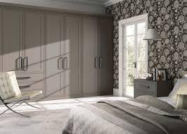 Matte White Bedroom Hinged Wardrobes Creative Kitchens U0026 Bedrooms