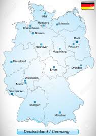 Maps Of Germany by Maps Of Germany Brilliant Germany Main Cities Map Thefoodtourist
