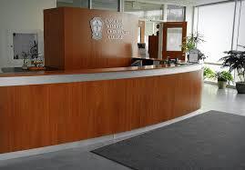 Commercial Reception Desk Chiropractic College Reception Desk Willsëns Architectural