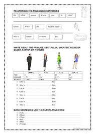 230 free esl comparison worksheets