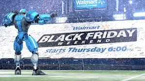 nfl shop black friday sales nfl on fox walmart cleatus black friday promo on behance