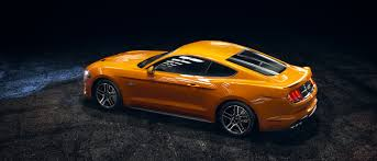 Black And Orange Mustang 2018 Ford Mustang Sports Car 1 Sports Car For Over 50 Years