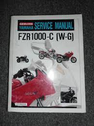 yamaha motorcycle fzr1000 c w g service shop repair manual oem