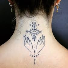 Tattoo Ideas For Back Of Neck Best 25 Simple Hand Tattoos Ideas On Pinterest Simple Hand