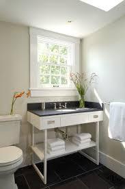 window trim ideas interior bathroom contemporary with white vanity