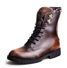 lace up moto boots shop steunk men s boots at rebelsmarket