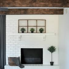 Living Room Ceiling Beams Diy Painted Faux Wood Ceiling Beams The Copper Anchor