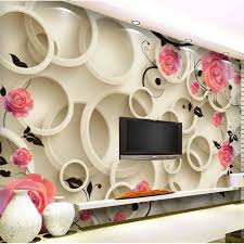 apartment cool 3d wall murals to get fresh home nuance cool 3d apartment cool 3d pink roses on the circle wall mural theater room decorative interior wall
