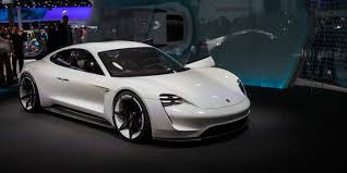 porsche electric interior mission e could spawn electric vehicle range including an suv