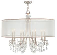 kitchen and dining room design shade chandelier esan decoration