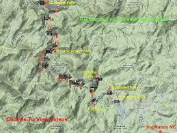 nantahala river map cullasaja river location 6 hook glade