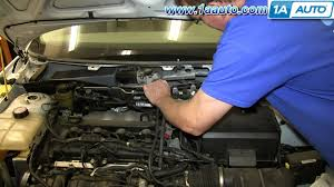 how to install replace wiper linkage transmission 2000 05 ford
