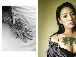 thug tattoos for girls inside the underground subculture of female korean tattoo artists