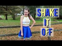 diy shake it off cheerleader taylor swift costume idea
