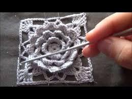 tutorial piastrelle uncinetto piastrella all uncinetto con fiore in rilievo tutorial intro