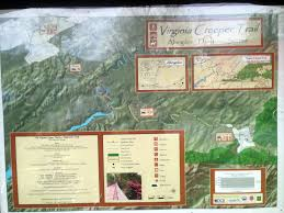 Virginia Creeper Trail Map by Virginia Creeper Bike Hike