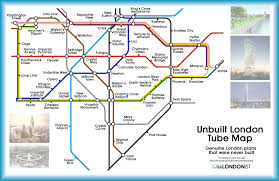 Underground Map A Tube Map Of The London That Never Was Londonist