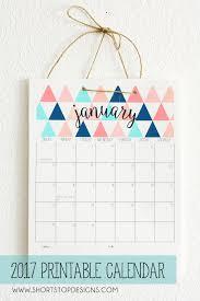 Small Desktop Calendar Free Free 2017 Printable Calendar Free Printable And