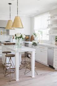 Antique Brass Kitchen Island Lighting Arteriors Wyndham Swivel Counter Stools Transitional Kitchen